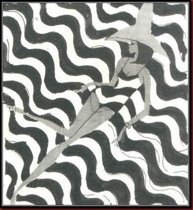 Estilo moda praia de Alceu Penna     Ele era especialista na arte cartunista, figurinista, estilista, artista gráfico e um defensor da emancipação feminina no Brasil, na medida em que, em seus artigos continham sugestões de comportamento para as mulheres. Ele conseguiu conquistar o seu sonho de ser conhecido como o melhor desenhista brasileiro de sua época e também pelos seus figurinos, ao levar a moda brasileira para o exterior.