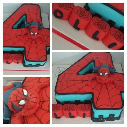 Spiderman Cake Images Pinterest