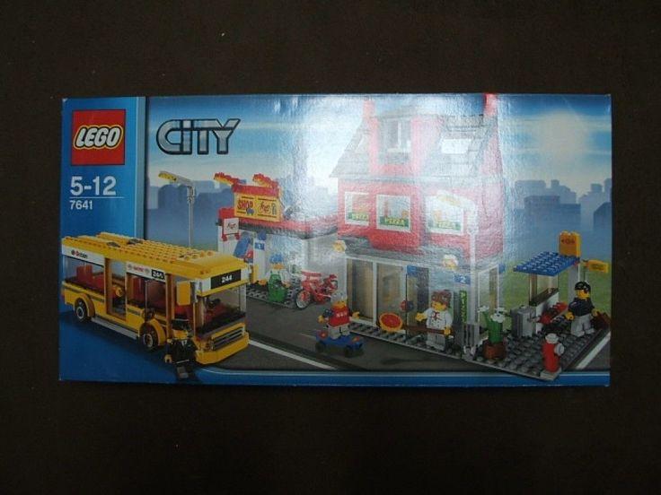NEW! LEGO CITY Corner Set  #7641 Pizza Restaurant Shop Bus 782 #LEGO