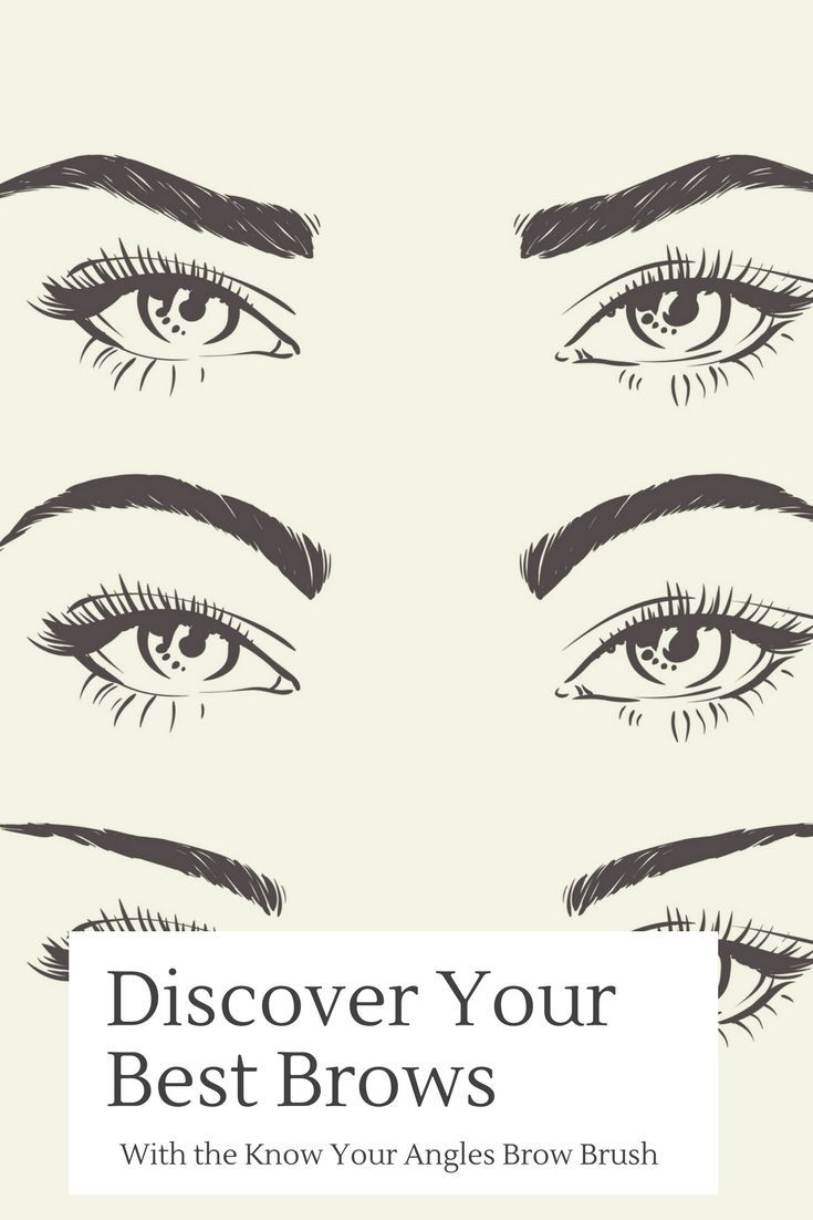Do You Have Arched Curved Or Straight Brows Eyebrows Say A Lot