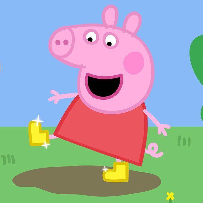 Peppa E George Numeros Personalizados Peppapig Chicken In 2020 Peppa Pig Memes Peppa Pig Wallpaper Peppa Pig Funny