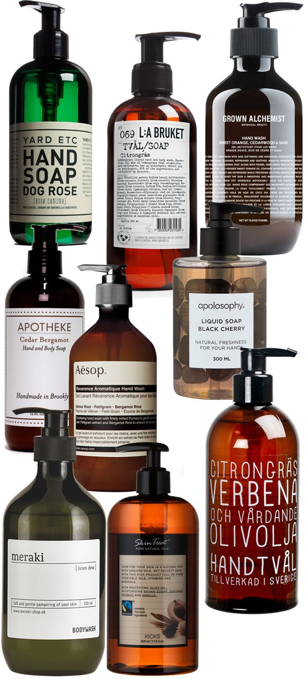 9 good looking bathroom soaps // 9 snyggaste badrumstvålarna Bathroom, Bathroom inspiration