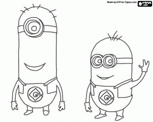 minion tim coloring pages - photo#15