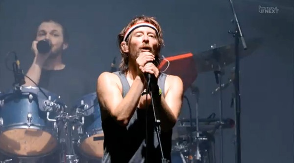 Thom Yorke debuts new Atoms For Peace songs Radiohead Tickets Radiohead frontman played new tracks during LA DJ set