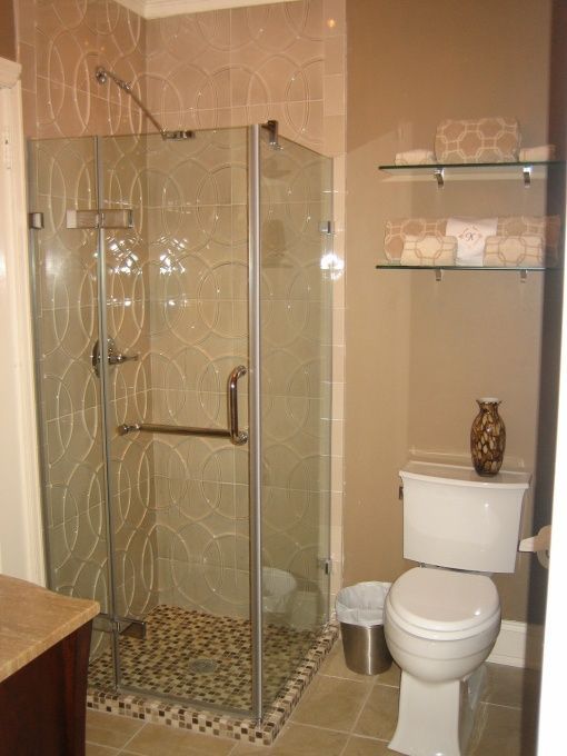 Bathroom small bathroom ideas with shower only new with for Pretty small bathroom ideas