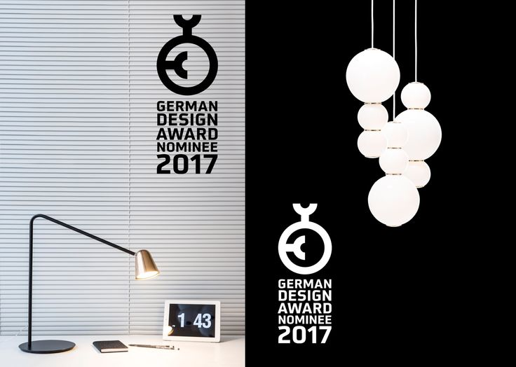 """CHAPLIN & PEARLS nominated for the GERMAN DESIGN AWARD 2017 for """"Excellent Product Design""""  Design by Benjamin Hopf for FORMAGENDA."""