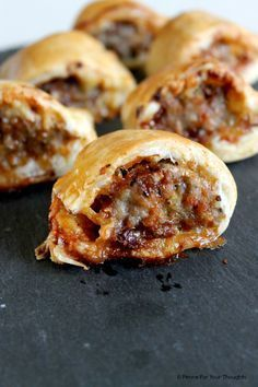Cheese and Marmite Sausage Rolls.