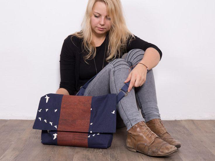 #Tutoriel DIY: Coudre un #sac à main en #liège souple via DaWanda.com
