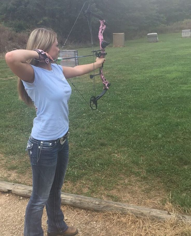 628 best images about women and bows sexy on pinterest for Compound bow fishing