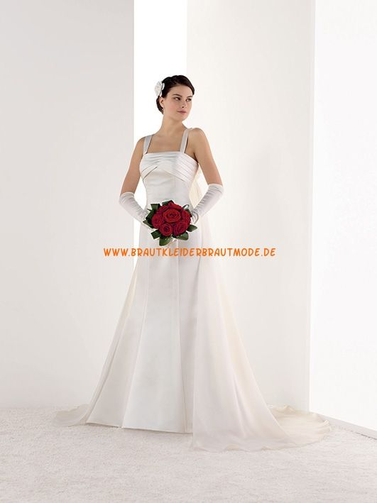 907 best Brautkleider aus Satin images on Pinterest | Short wedding ...