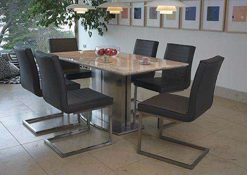 Prestige, dining chair, grey, modern