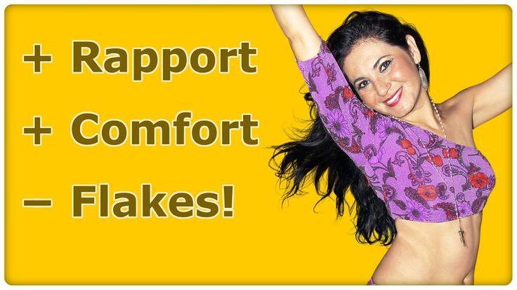 """Frauen ansprechen """"Was sagen?"""" - Flakes vermeiden - Rapport+Comfort - Da..."""