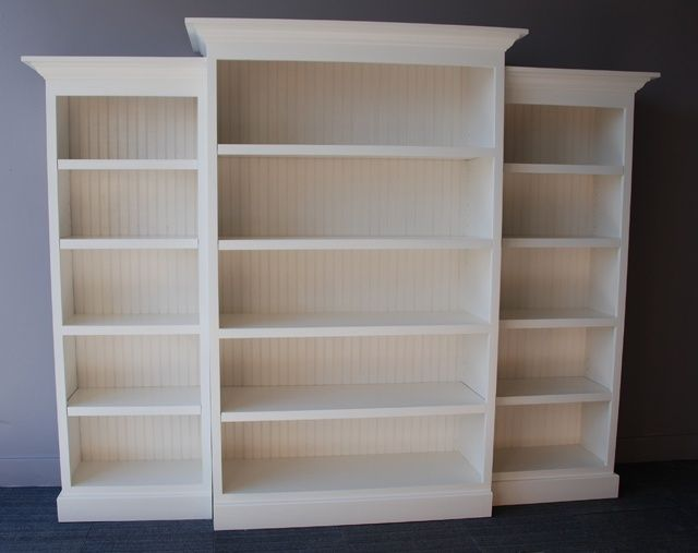 Retail Built In Bookshelves Classic Bookcase Wall Unit