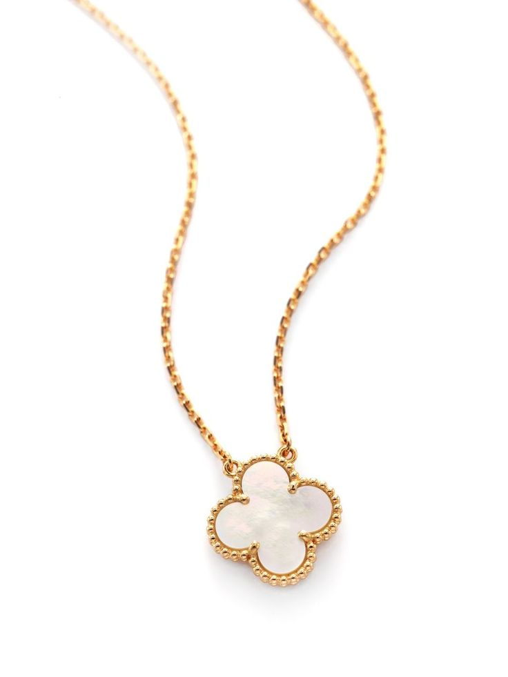 Van Cleef & Arpels will donate 10 percent of the purchase price of special-edition Vintage Alhambra pendant necklaces to The Breast Cancer Research Foundation.