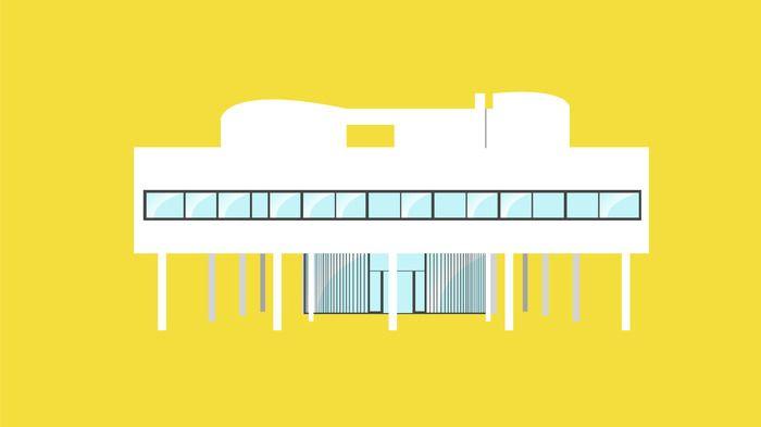 casa de cristal philip johnson planos - Buscar con Google