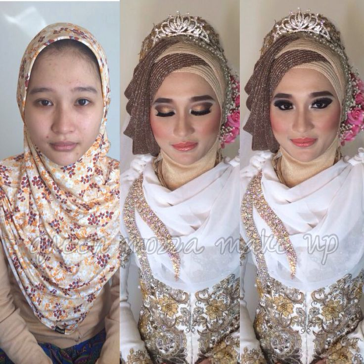 moslem wedding make up