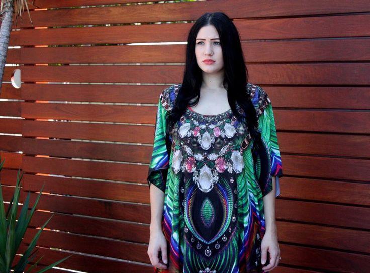 New 2015 Stuuning Kaftan Tunic Dress from www.kaftanallure.com