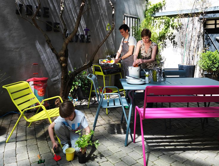 Awesome Table Jardin Alu Couleur Images - Awesome Interior Home ...