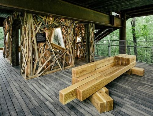 Tour the Huge Treehouse Where Boy Scouts Learn Sustainability