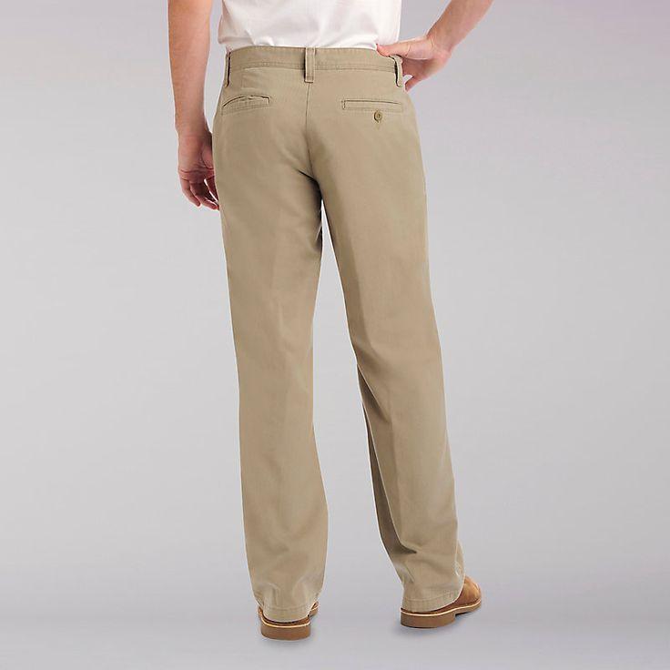 Lee Men's Weekend Chinos - Big & Tall Pants - 48x32