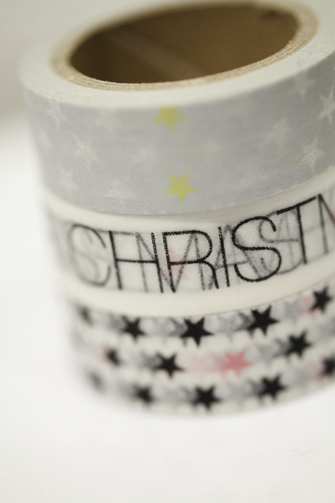 christmas washi tapes, photo by Absolutely white