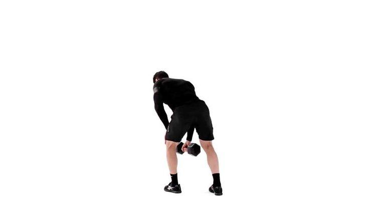 Lær hvordan du gjør Foroverbøyd enarmsroing riktig for å trene Rygg, Biceps, Skuldre, Magemuskler, med enkle trinnvise videoinstruksjoner fra en ekspert. Finn relaterte øvelser og variasjonsmuligheter.
