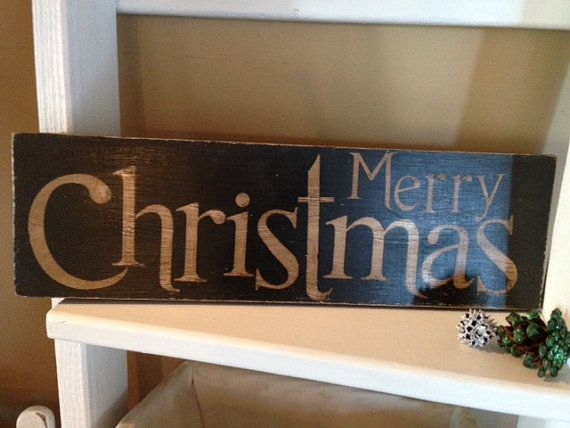 Merry Christmas Sign by Homeroad  Free Shipping on Christmas signs and Santa Pillows!