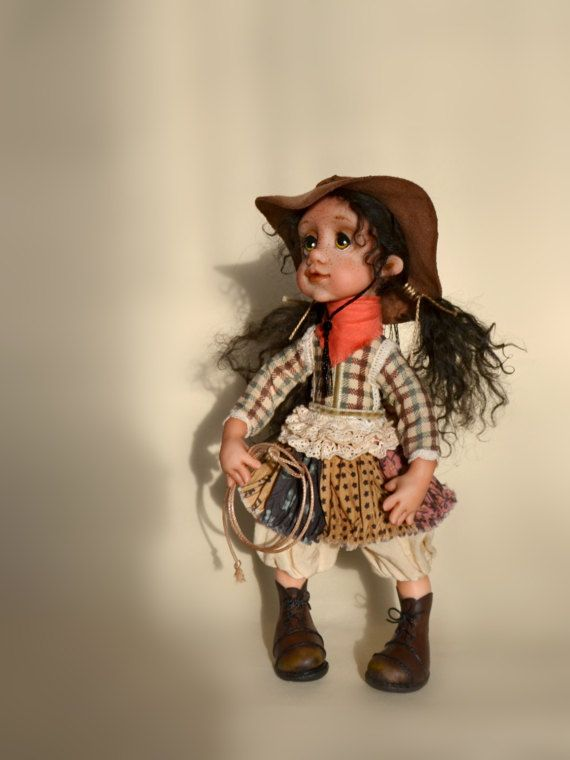 #Doll cowboy#Авторская кукла маленькая ковбойша  Made with lots of love, these adorable boho-style dolls will bring magic and joy to your space. Each little lady has her own story and personality, and will undoubtedly be ... #cowboy #western #doll ➡️ http://jto.li/tcR8t
