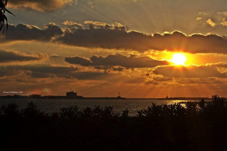 Sunset in Alexandria by Enea H. Medas  on 500px