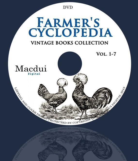 Farmers Cyclopedia  Vintage Books Collection 7 by MacduiDigital
