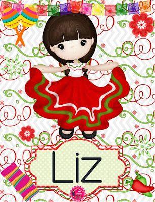 BANCO DE IMAGENES GRATIS: Nombres de mujeres, adolescentes y niñas en postales mexicanas con motivos de septiembre en colores verde, blanco y rojo para compartir con familiares y amigos...