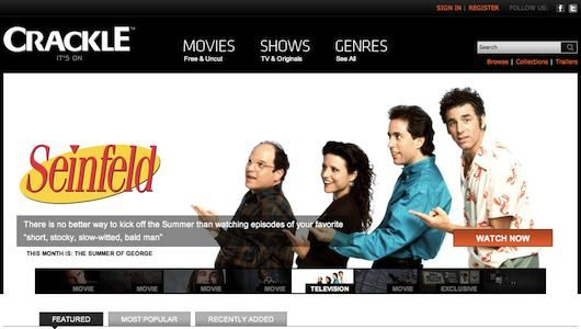 Several sites to go watch movies and tv shows for free!