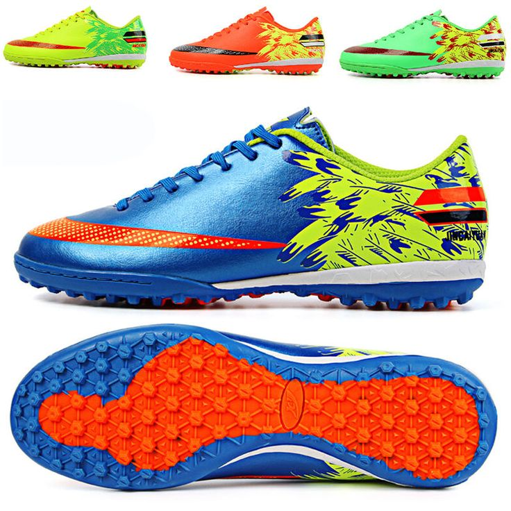 Indoor Turf Soccer Cleats Shoes Men Kids Soccer Football TF Sole Trainers Shoes #Unbranded