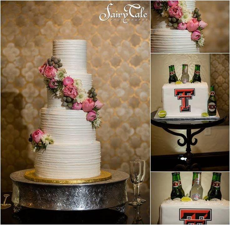 Chapel Ana Villa   Dallas Wedding Cakes   Texas Tech Red Raider Cake   The Jenny Layne Bakery   Fairytale Photography