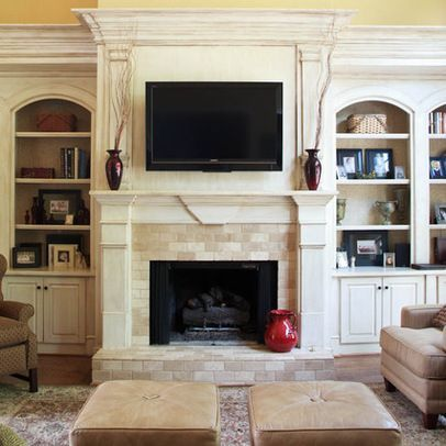 Wunderbar Brick Fireplace Remodel Design Ideas, Pictures, Remodel, And Decor   Page 2