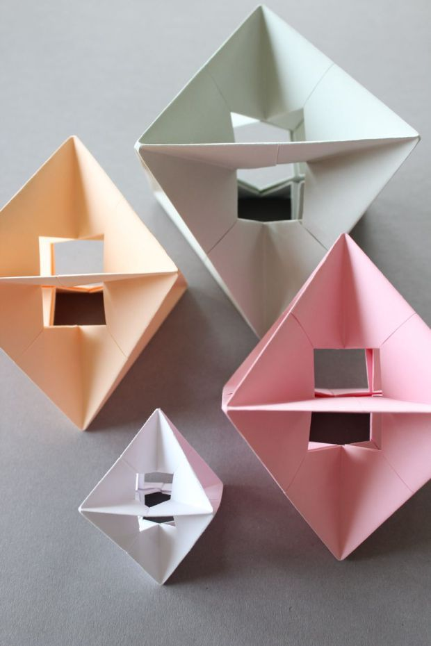 DIY – Modular Design Spinner | Origami, Diy origami and Craft