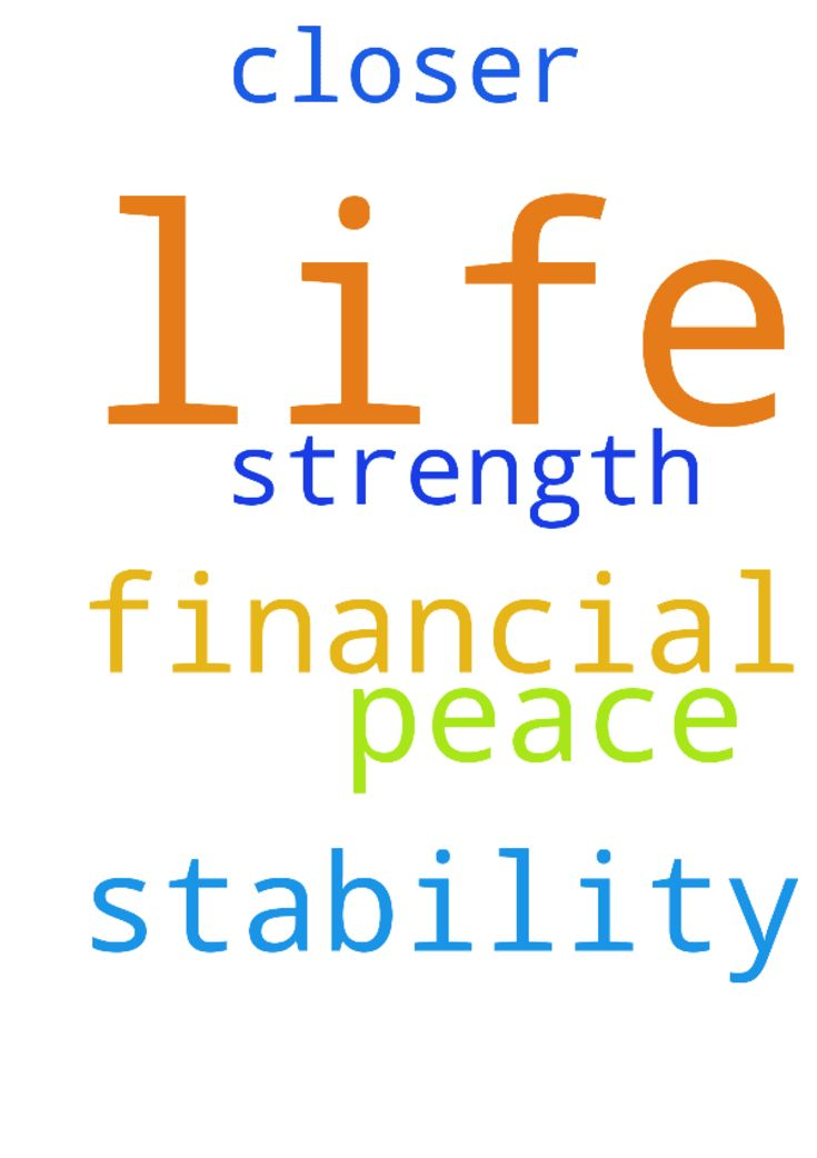 I pray for peace in my life, I pray for financial stability, - I pray for peace in my life, I pray for financial stability, I pray for strength, and to be closer to God. Posted at: https://prayerrequest.com/t/LPU #pray #prayer #request #prayerrequest
