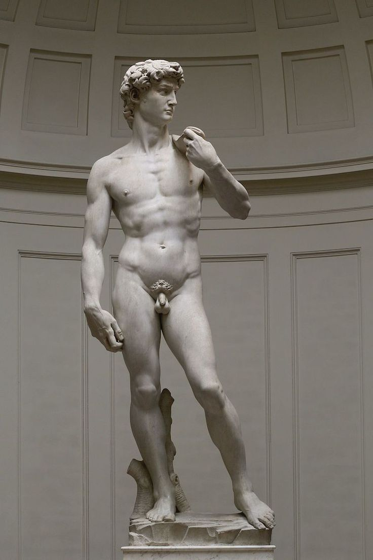 ART Art History: The Meaning Behind Michelangelo's Iconic 'David' Statue