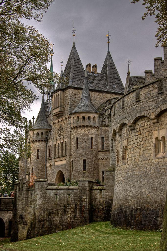bluepueblo: medieval, el castillo de Marienburg, Hannover, Alemania foto a través de alice