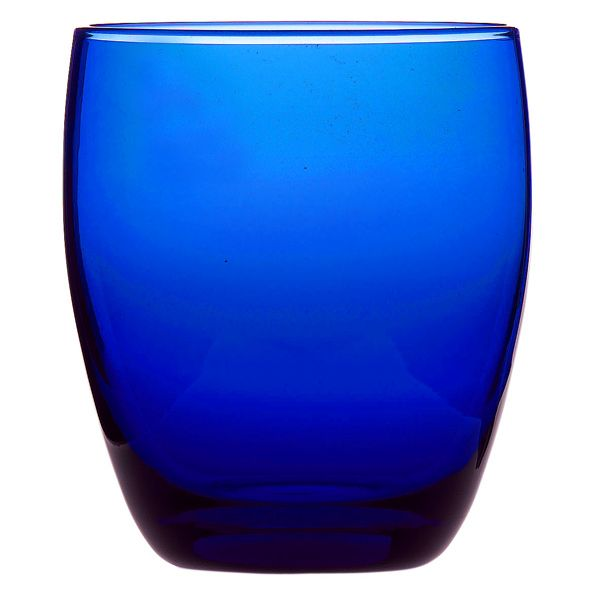Cobalt Blue | Cobalt Blue Old Fashioned Tumblers