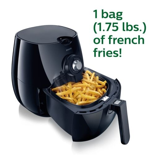 Philips Airfryer, The Original Airfryer, Fry Healthy with 75% Less Fat Black HD9220/26