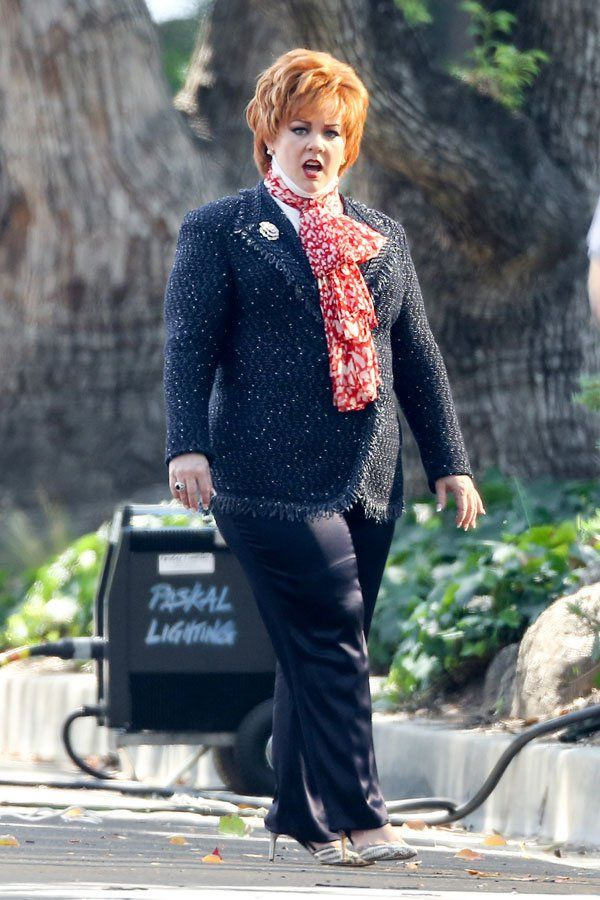 Melissa McCarthy Weight Loss Photos — Actress Shows Off Svelte Filming 'The Boss' In Los Angeles | Radar Online