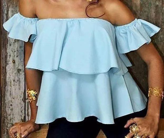 824182eb948e0 blusas limonni dama campesinas moda elegantes de mujer 021