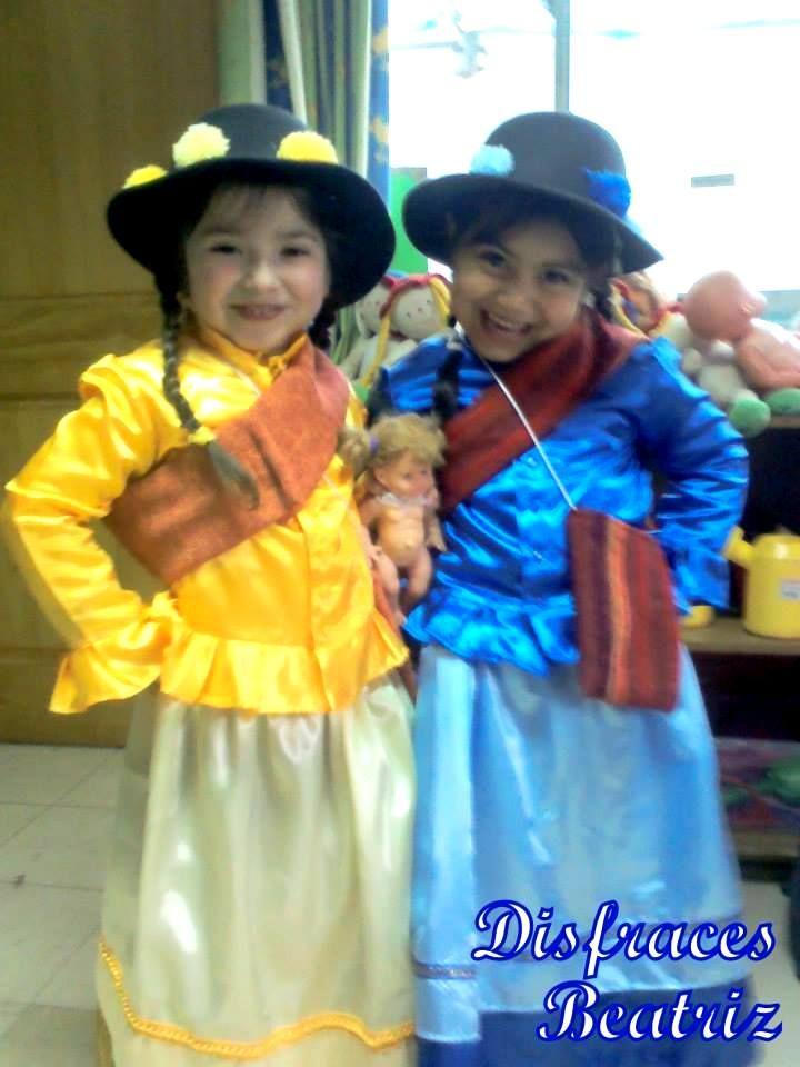 Vestimenta huayno (PERU)
