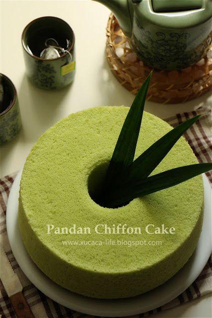 Butter Mehl & Me Love Xinlingzhiyue: pandan Chiffon (Pandan Chiffon)