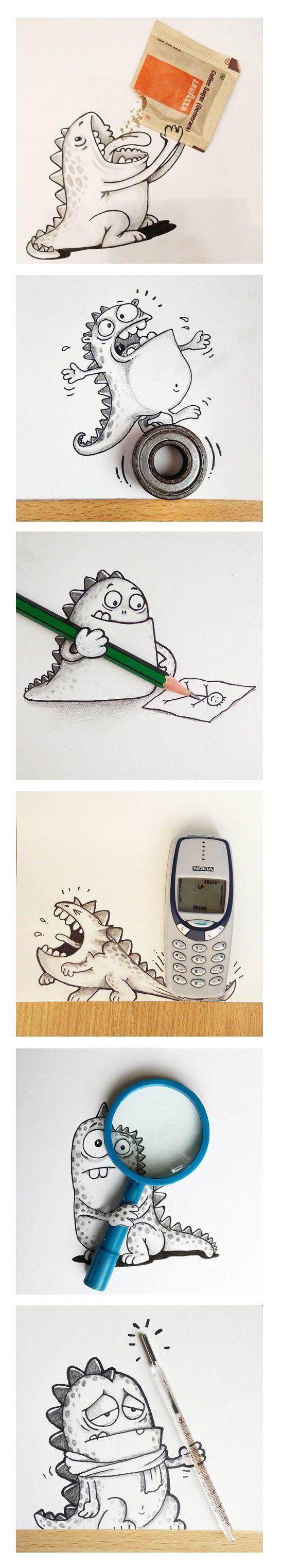 manik r ratan y sus dibujos casi reales - #illustration #art #creativity