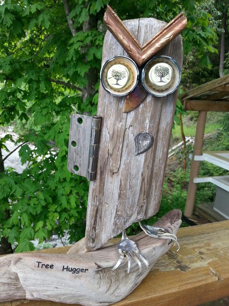 Tree hugger owl