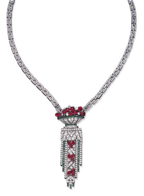 Necklace, ca. 1930 via Christie's