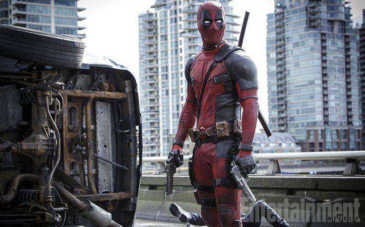 Deadpool : flingues et tôle froissée dans la nouvelle photo - News films Vu sur le web - AlloCiné