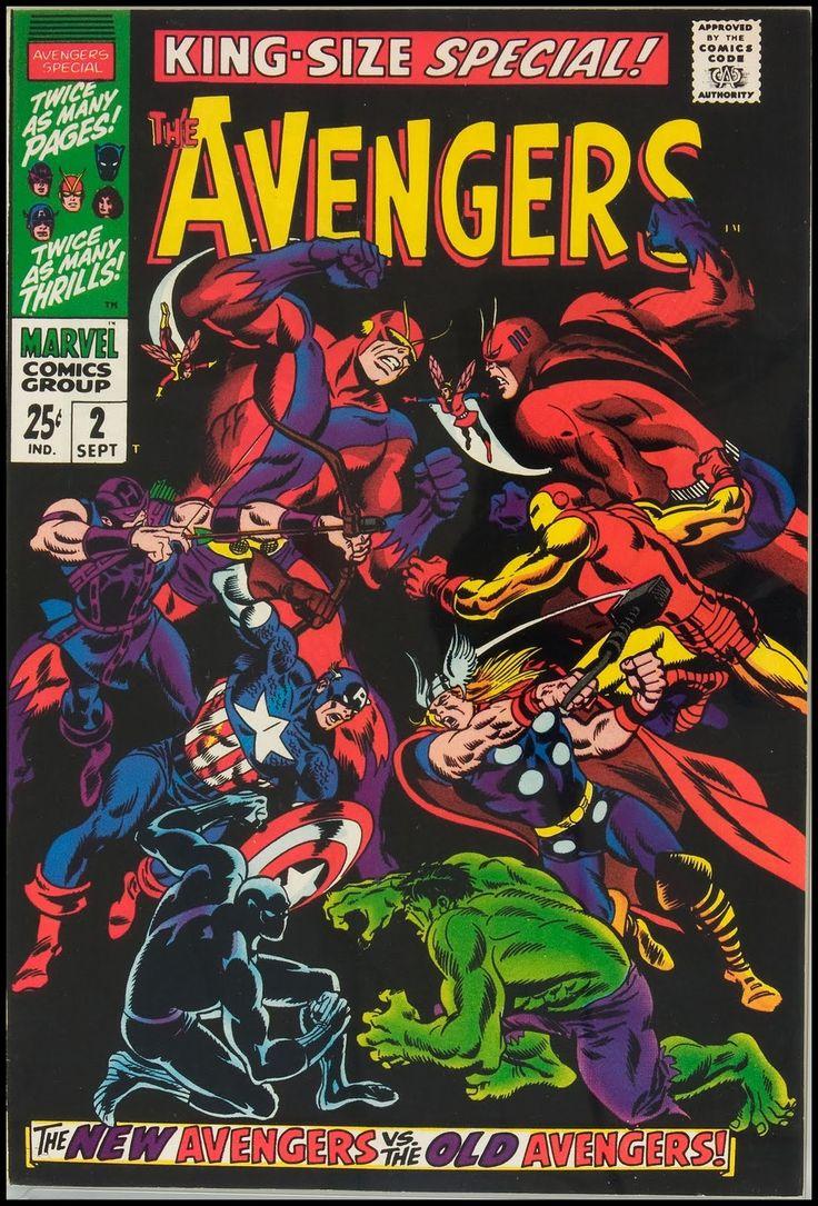 Avengers King Size Special 2 Comics Amp Comix Pinterest